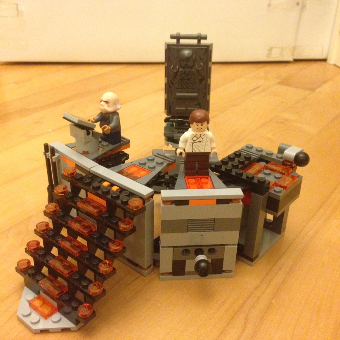 Lego Star Wars: Carbon Freezing Chamber (75137)