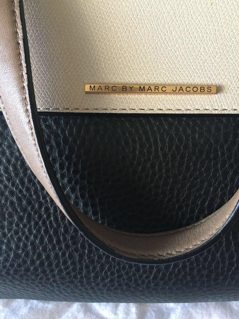 MARC by Marc Jacobs colorblock satchel
