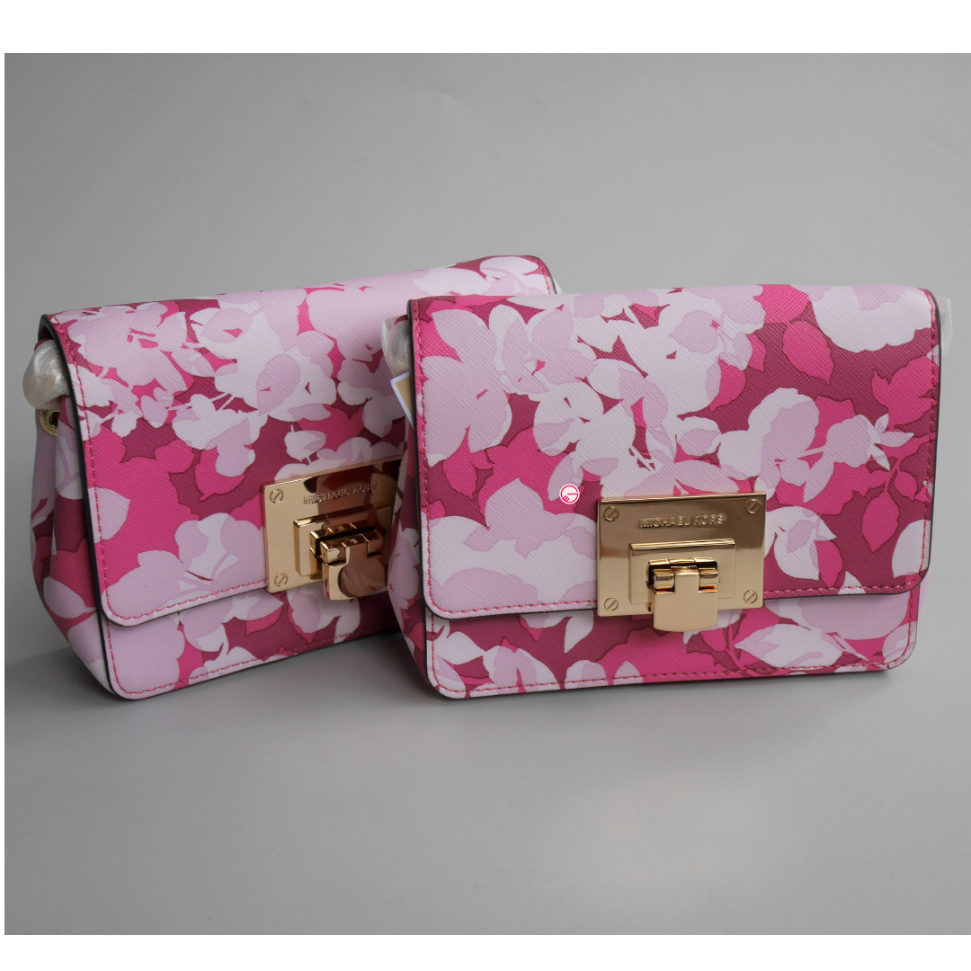 7518a2ddc4aabb Michael Kors Tina Small Clutch Granita, Luxury, Bags & Wallets on ...