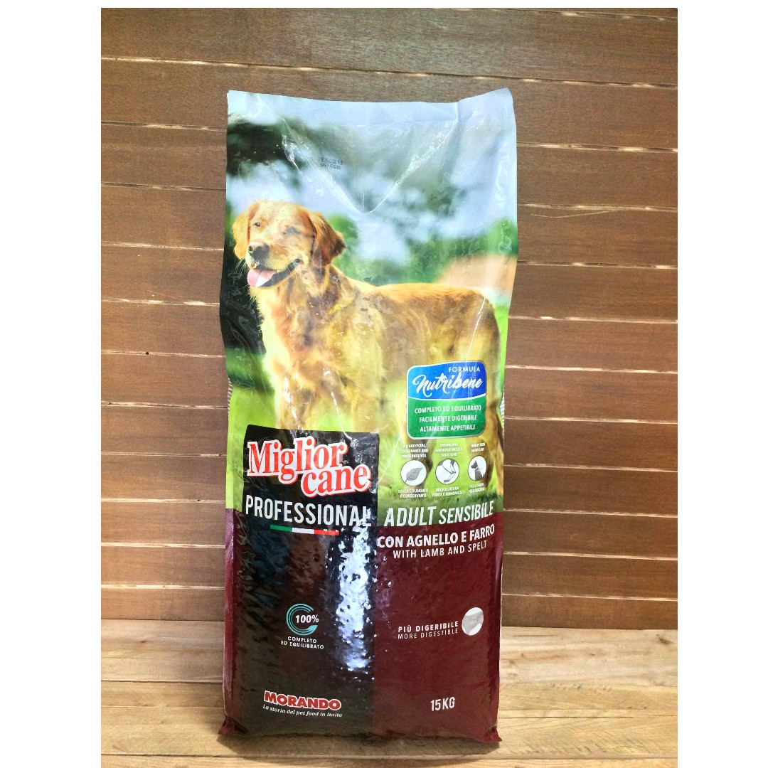 Miglior Cane Professional Lamb and Spelt Adult Dog Food Migliorcane, Pets Supplies, Pet Food on Carousell