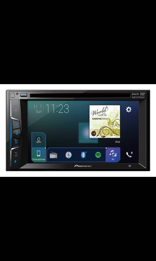 New Set Pioneer Avh Z2050bt Touch Screen Multimedia Player With