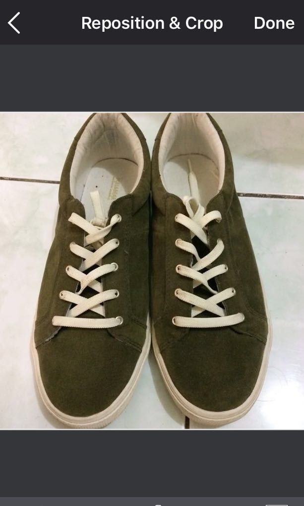 (Original) Pull & Bear Army Shoes