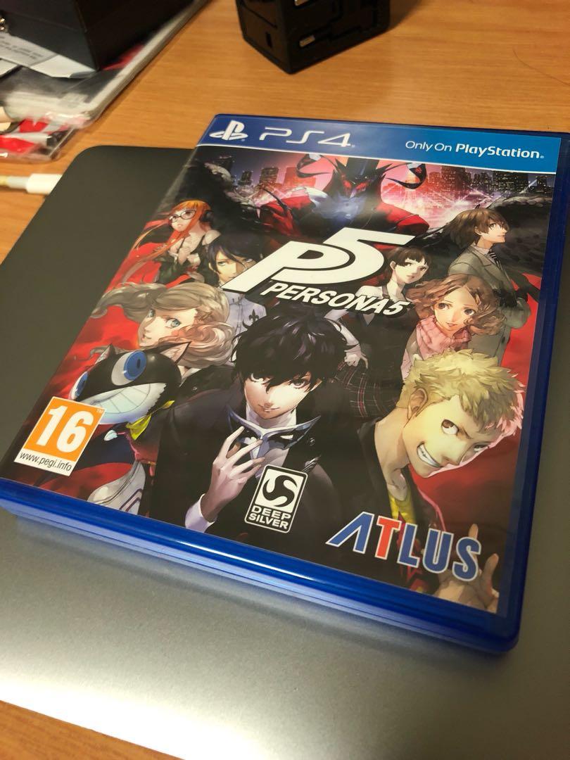 Persona 5 Region Free PS4 English RPG