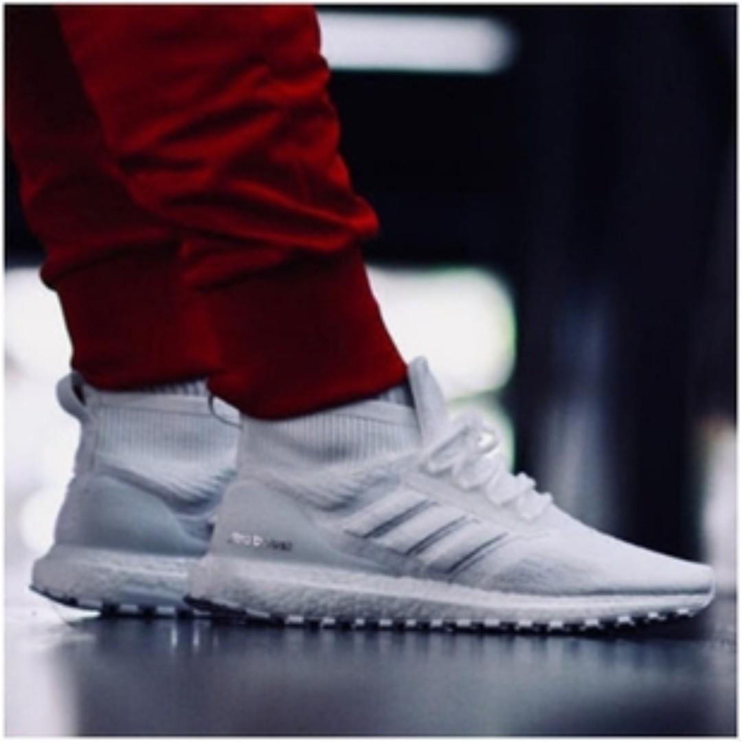 release date: eba37 6ee87 PO) Adidas Mens Ultra Boost Mid ATR Triple White, Men's ...