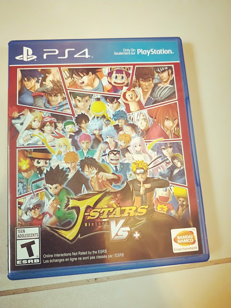 Ps4 J Stars Victory Vs Toys Games Video Gaming On Game Photo