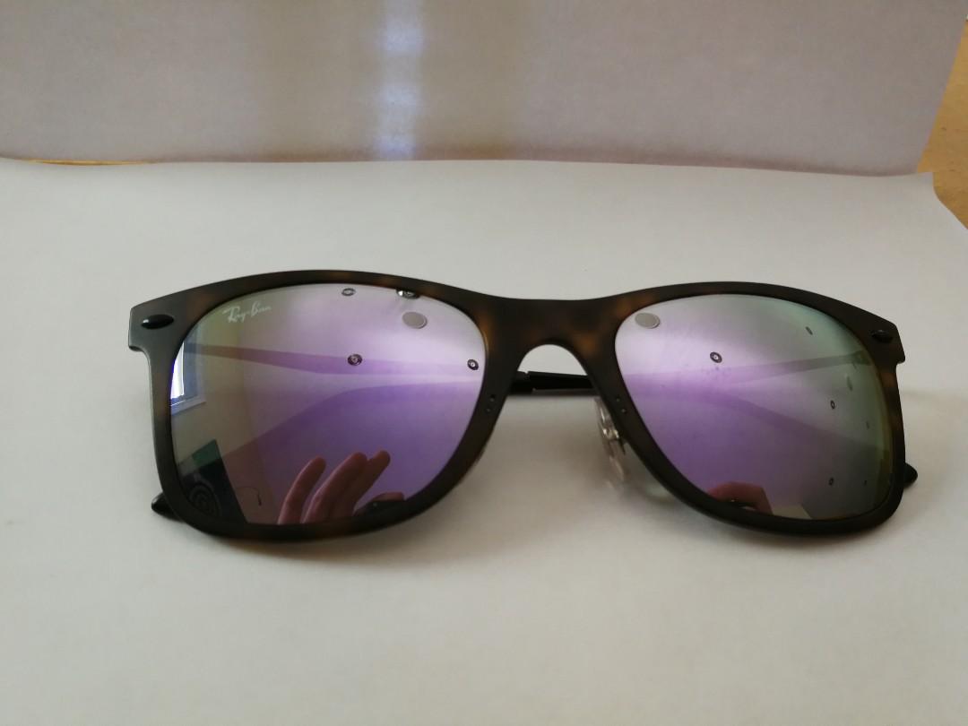 Rb 4210 Ray-Ban sunglasses purple flash len