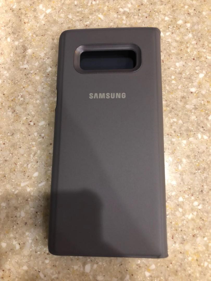 official photos cc727 82acd Samsung note 8 s-view case (ori)