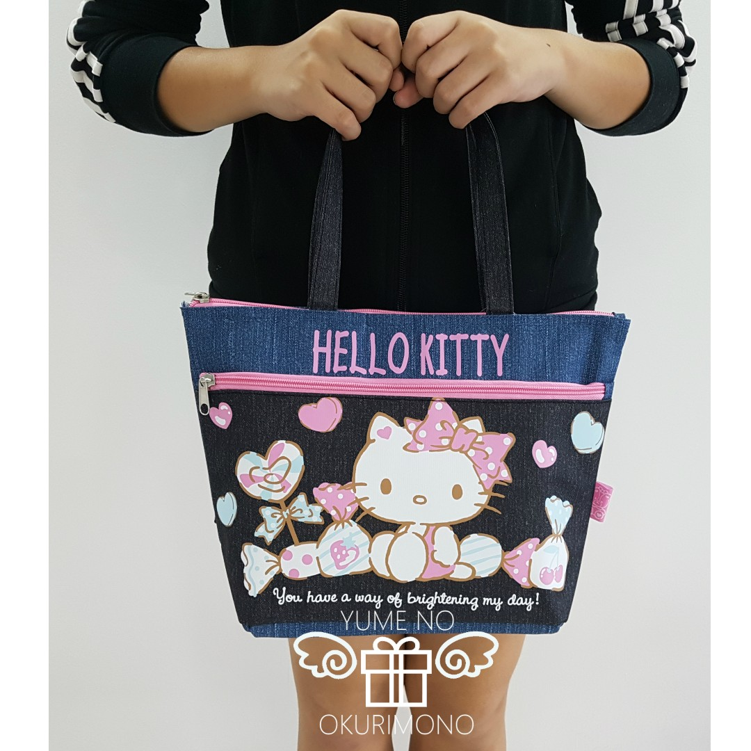 0b5d31fb7 Sanrio Cooler Boat-shaped Tote Bag (Hello Kitty), Women's Fashion ...