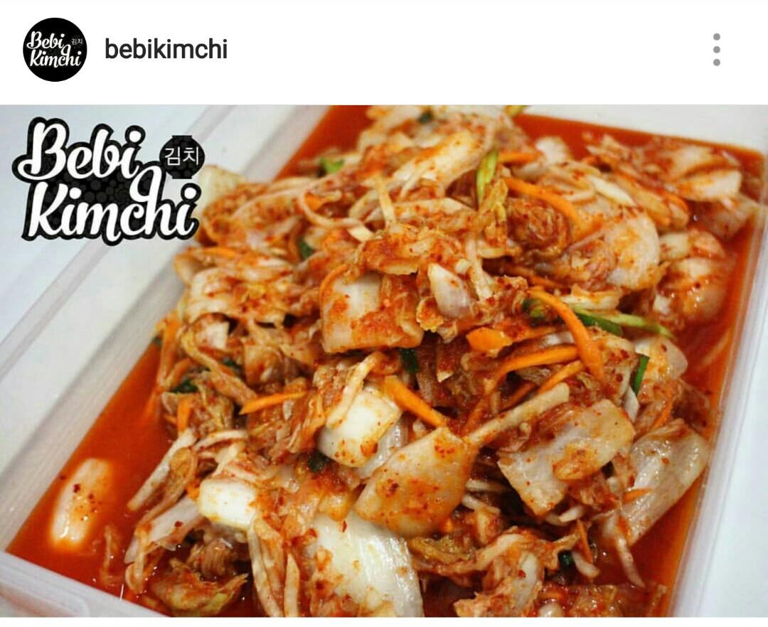 Super Yummy Homemade Kimchi Makanan Minuman Snek Di Carousell Rasa Lokal Kolak Pisang Ubi Dengan Cocolan Asli Gula Aren Santan Photo