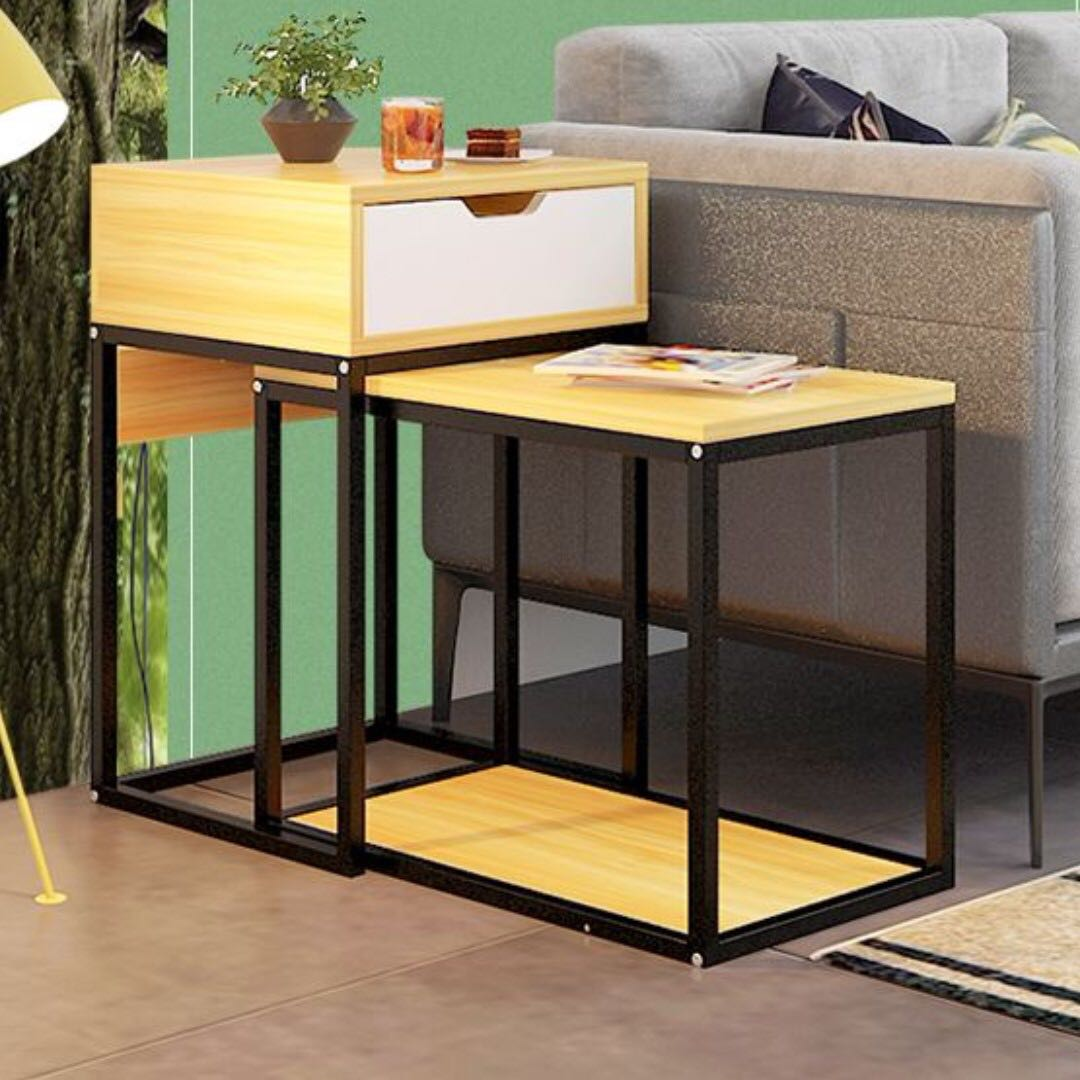 Twin Style Sofa Side Table Furniture Tables Chairs On Carousell