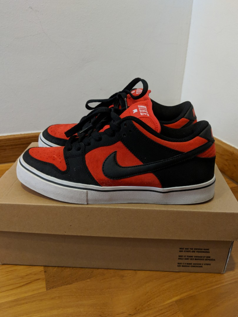 info for a70b0 057da US 8 Nike Dunk Low LR (Pimento Black), Men s Fashion, Footwear ...
