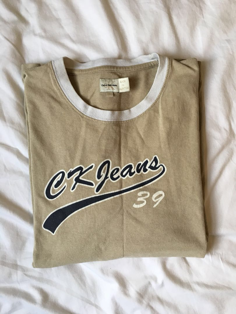 Vintage Calvin Klein Tshirt