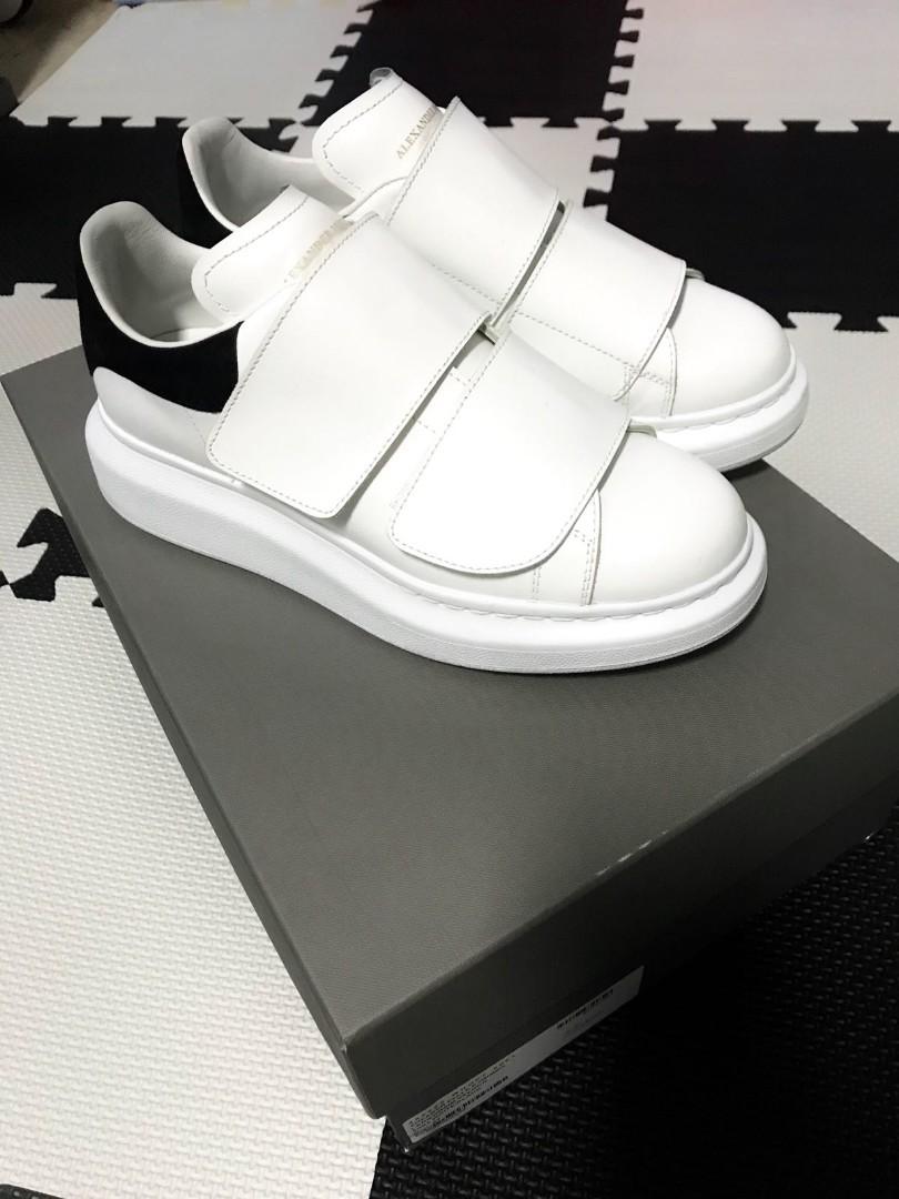 302f3189abf8 White Sneakers  Alexander McQueen Oversized Sneakers Larry (Strap ...