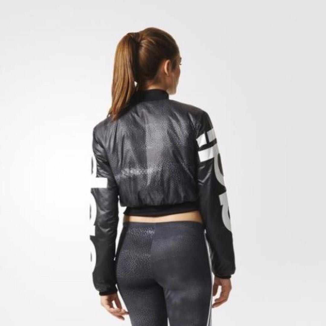 adidas Originals Rita Ora Mystic Moon Crop Bomber Jacket