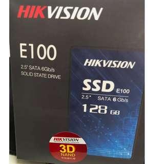 🚚 3D TLC 全新海康威視E100I 128G SSD 3年保3年到府 附上快換中心據點