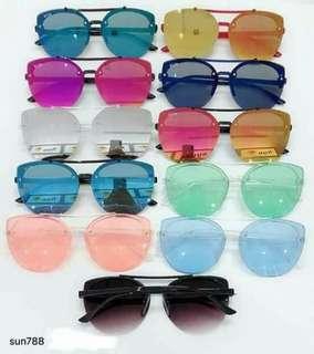 Colored Eyeglasses