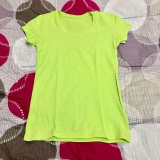 Plain T-shirt (light green, pink, violet, black, gray, light blue)