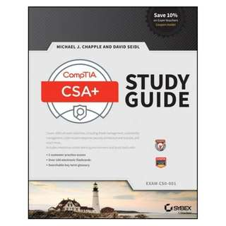 ebook: CompTIA CySA+ Study Guide: Exam CS0-001 [2017]