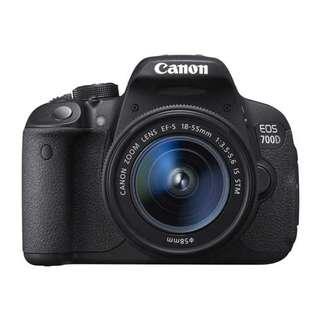Canon Eos 700D Kredit Ringan dan Cepat