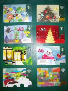 Old Starbucks Cards Philippines