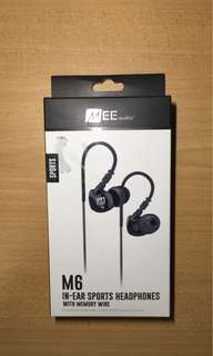 MEE audio M6 IN-EAR SPORTS HEADPHONES WITH MEMORY WIRE