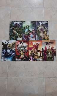 "X-Men Legacy Vol 1 (Marvel Comics 7 Issues; #254 to 260, complete story arc on ""Five Miles South of the Universe"")"