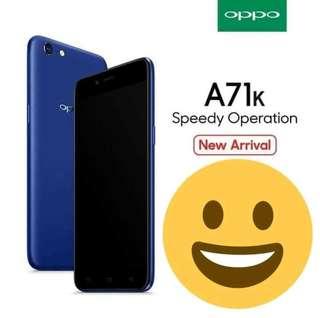 Oppo a71 blue tersedia bisa kredit