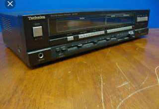 Technics vintage amplifier