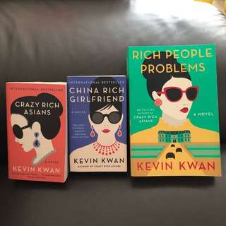 Kevin Kwan's Crazy Rich Asian Series (Full Set)