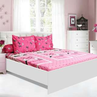 sprei california minnie