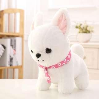 可愛小狗 柴犬 三兄弟 35cm 小狗 公仔 禮物