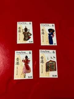 1989年香港太平青醀郵票