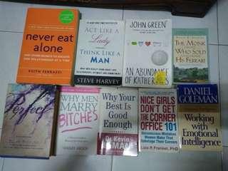 Preloved English Books