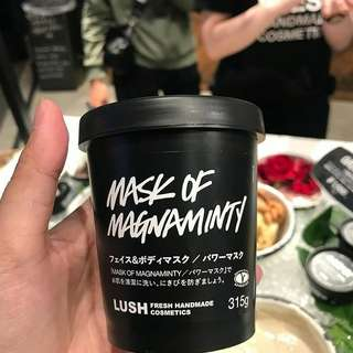 Open PO Lush magnaminty fresh japan