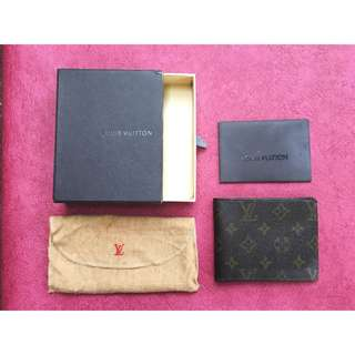 Vintage Louis Vuitton Bifold Leather Wallet