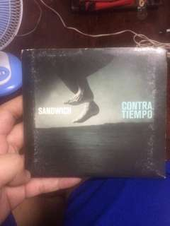 Contra Tiempo Sandwich Signed OPM CD