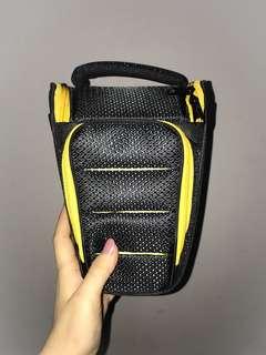 triangle camera bag