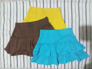 Take All aunthentic Skirts 4T