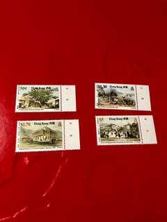 1987年香港舊日風貎郵票