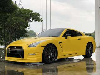 Legendary car rental GTR R35 for Rent  Kereta sewa