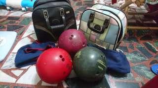 保齡球 3顆 保齡球袋