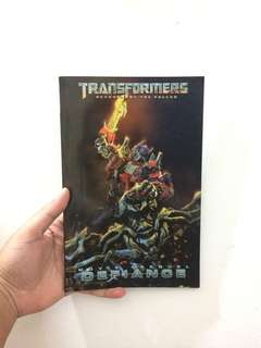 "TRANSFORMERS ""MOVIE PREQUEL DEFIANCE"""