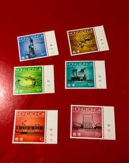 1989年香港為未來建設郵票