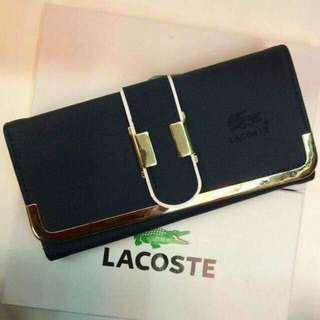 Lacoste wallet 290  ✅w/ box *ql