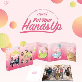 [PREORDER] APINK (에이핑크) - 에이핑크의 PUT YOUR HANDS UP DVD