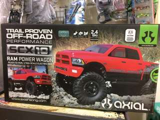 Axial rtr scx10 1