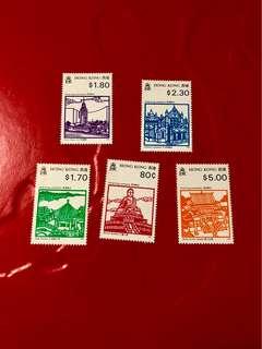 1991年香港勝跡郵票