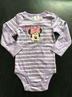 Brand new Disney Baby long sleeve Minnie romper