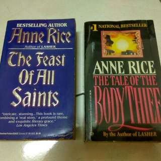 Anne Rice (Vampire Lestat series)