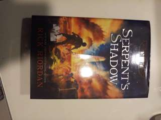 Rick Riordan's Kane Chronicle's: The Serpent's Shadow (hardbound)